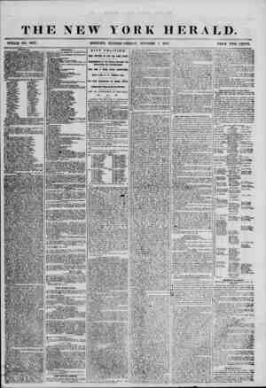 THE NEW YORK HERALD. WHOLE NO. 6977. MORNING EDITION? FRIDAY, OCTOBER 5, 1855. PRICE TWO CENTS. POLITIC AX? /^OKBTITCTIONAL