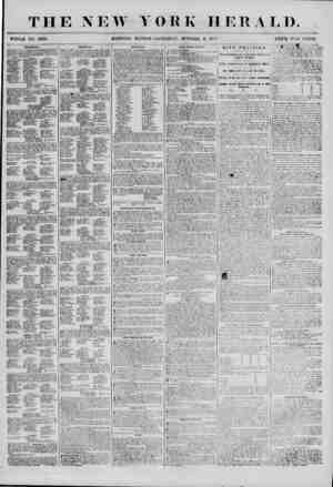 THE NEW YORK HERALD. WHOLE NO. 6978. MORNING EDITION? SATUROA Y, OCTOBER 6, 1851 PRICE TWO CENTS. POLITICAL. 1ST WABI> ? AT