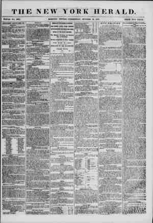 THE NEW YORK HERALD. Whole no. 6982. ADVERTISEMENTS RENEWED EVERY DAY. POLITICAL. 1ST WAR a -AT A MKBTIKli oV THE NATIONAL