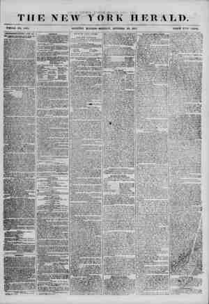?f ? '? ' f :J THE NEW YORK HERALD. WHOLE NO. #v?94. MORNiNG EDITION?MONDA 7, OCTOBER 22, 1855. PRICE T=M> CENTS....