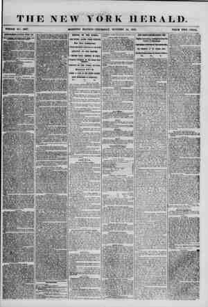 THE NEW YORK HERALD. WHOLE NO. <5997. MOURNING EDITION-THURSDAY, OCTOBER 25. 1855. PRICE TWO CENTS. ADTHRTlSKMfcim RhNKWhifi