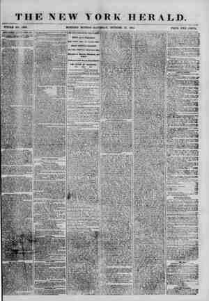 THE NEW YORK HERALD. WHOLE NO. (>899. MORNING EDITION -SATURDAY, OCTOBER '27. 1855. PRICE TWO CENTS. AlfKfcTlSKHKMVb tti *