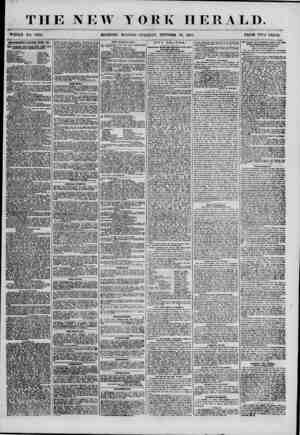 THE NEW YORK HERALD. WHOLE NO. 7002. MOKNING EDITION?TUESDAY, OCTOBEK 30, 1855. PRICE Two CENTS AjmiWMKim RENEWED EVERT Dil_