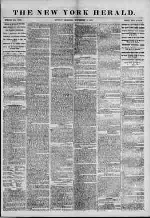 THE NEW YORK HERALD. WHOLE NO. 7007. SUNDAY MOKNING, NOVEMBER 4, 1855. PRICE TWO CENTS. ARRIVAL OF THE STAR OF THE WEST....