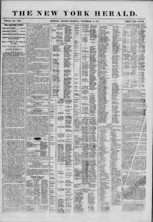 THE NEW YORK HERALD. WHOLE NO. 7009. MORNING EDITION-TUESDAY, NOVEMBER 6, 1855. PRICE TWO CENTS. TEE ELECTION TO-DAY, POLLS