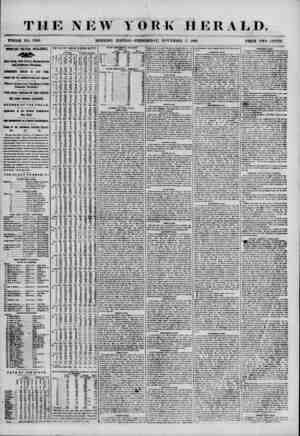 THE NEW YORK HERALD. WHOLE NO. 7010. MORNING EDITION?WEDNESDAY, NOVEMBER 7, 1855. PRICE TWO CENTS. IMPORTANT POLITICAL...