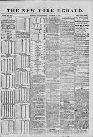W YORK HERALD. WHOLE NO. 7W15. MORNING EDITION-MONDAY, NOVEMBER l'i, 1855. PRICE TWO CENTS. THE ELECTIONS. THE VOTE OF THE