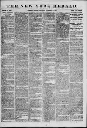 THE NEW YORK HERALD. WHOLE NO. 7020. MORNING EDITION-SATURDAY. NOVEMBER 17, 1855. PRICE TWO CENTO OFFICIAL CORRUPTION....