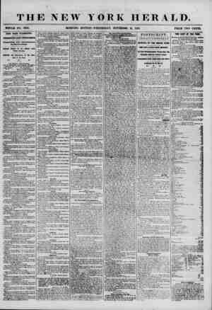 THE NEW YORK HERALD. WHOLE NO. 7024. MORNING EDITION-WEDNESDAY, NOVEMBER 21, 1855. PRICE TWO CENTS. MEWS FROM WASHINGTON....