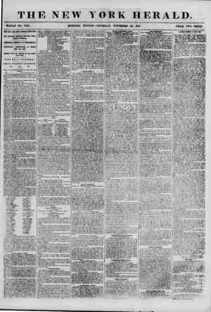 THE NEW YORK HERALD. WHOLE NO. 7025. MORNING EDITION?THURSDAY, NOVEMBER 22, 1855. PRICE TWO CENTS. THE FREE ROIL DOW NOTHING