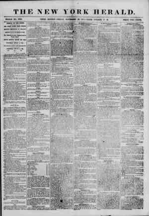 THE NEW YORK HERALD. WHOLE NO. 7026. THIRD EDITION-FRIDAY, NOVEMBER 23. 1855,-TnREE O'CLOCK 1'. M. PRICE TWO CENTS. ARRIVAL