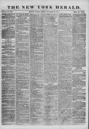 THE NEW YOBK HERALD. iWHOLE NO. 7030. MORNING EDITION-TUESDAY, NOVEMBER 27. 1855. PRICE TWO CENTS. ADVERTISEMENTS RENEWED...