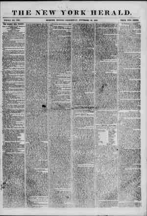 THE NEW YORK HERALD. WHOLE NO. 7031. MORNING EDITION-WEDNESDAY, NOVEMBER 28. 1855. PRICE TWO CENTS. THE 8TANWIX HALL TRAGEDY.