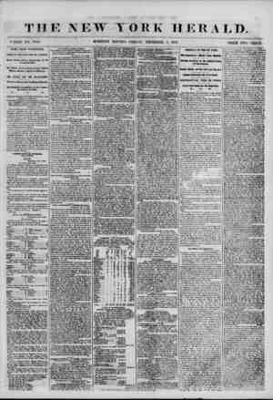 THE NEW YORK HERALD. * HOLE KO. 7010. MORNING EDITION-FRIDAY, DECEMBER 7, 1856. PRICE TWO CENTS. WHS F11051 WASHINGTON....