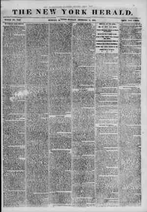THE NEW TORE HERALD. WHOLE NO. 71)43. MORNING MONDAY, DECEMBER 10, 1850. PRICE TWO CENTS. THE LEGISLATIVE FoLlCJS GtHMllTEB.