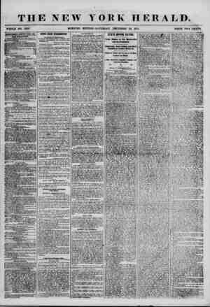 THE NEW YORK HERALD. WHOLE NO. 7055. MORNING EDITION-SATURDAY, DECEMBER 22, 1835. PRICE TWO CENTS. ABTMTBEBEWTgJtEWEWKD ETEBY
