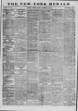 THE NEW YORK HERALD. WHOLE NO 7061. MORNING EDITION-FRIDAY, DECEMBER 28, 185ft. PRICE TWO CENTS. 1ITKIT18KIENT8 BKNI.WlJ>...