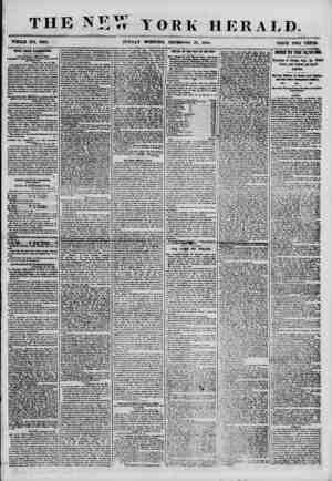THE NET* YORK HERALD. WHOLE NO. 7063. SUNDAY MORNING, DBOSMBRK 30, 18/>6. PRICE TWO CENTS. HEWS FROM WASHINGTON. OUR SPECIAL