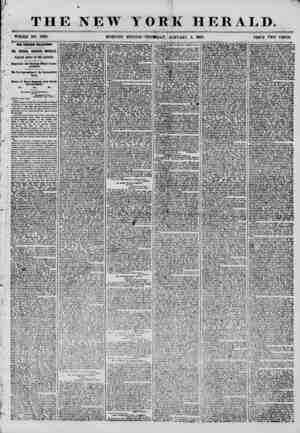 THE NEW WHOLE NO. 7066. MORNING YORK HERALD. > ? . ?? . , , ? ? ? , EDITION? THURSDAY, JANUARY 3, 1856. PRICE TWO CENTS. OUR