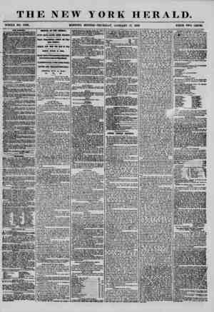 THE NEW YORK HERALD. WHOLE NO. 7080. MORNING EDITION? THURSDAY, JANUARY 17, 1856. PRICE TWO CENTB. THE , T A SPECIAL MEETING
