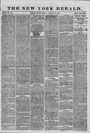 THE NEW YORK HERALD. WHOLE NO. 7091. MORNING EDITION-MONDAY, JANUARY 28, 1858. PRICE TWO CENTS. Dramatic and Musical Matter*.