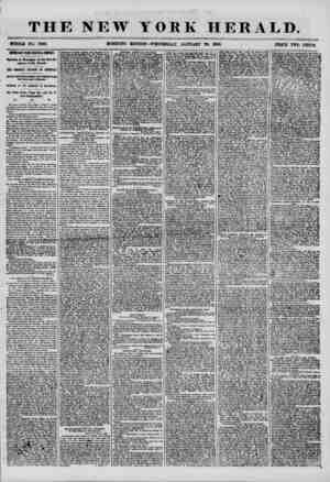 THE NEW YORK HERALD. WHOLE NO. 7093. PEICE TWO CENTS, IMPORTANT FROM CENTRAL AMERICA. Opinions in Nicaragua on the Non-Re...