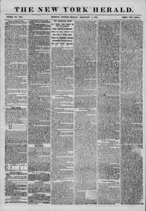 THE NEW WHOLE NO. 7098. MORNING YORK HERALD. EDITION-MONDAY, FEBRUARY 4, 1856. PRICE TWO CENTS. Dramatic and M luteal J*#*?*