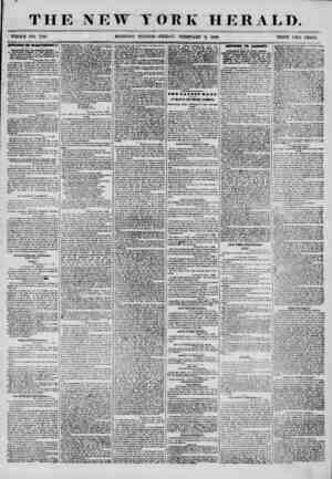 THE NEW YORK HERALD. WHOLE NO. 7108 MORNING ED ITION? FRIDAY, FEBRUARY 8, 1856. PRICE TWO CENTS. AITAZM nr WASHmSO Jf....