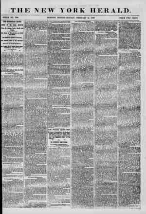 J ' ? ' f THE NEW YORK HERALD. WHOLE NO. 7105 MORNING EDITION-MONDAY, FEBRUARY 11, 1858. PRICE TWO CENTS. THE EUROPEAN NEWS.