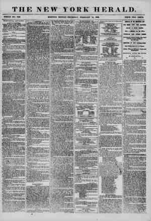 THE NEW YORK HERALD. WHOLE NO. 7108 MORNING EDITION? THURSDAY, FEBRUARY 14, 1856. PRICE TWO CENTS. MUNICIPAL AFFAIRS. BOARD