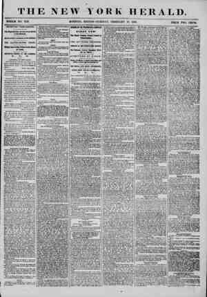 THE NEW YORK HERALD. WHOLE WO. 7113 MORNING EDITION-TUESDAY, FEBRUARY 19, 1856. PRICE TWO CENTS. IMPORTANT FROM EUROPE* The