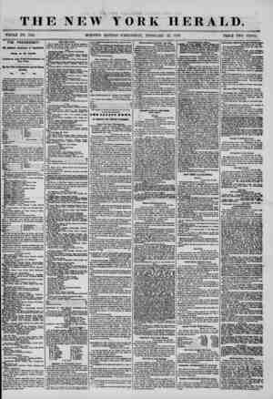 THE NEW YORK HERALD. * ^ WHOLE NO. 7121. PRICE TWO CENTS. THE PRESIDENCY. THE AMERICAN CONVENTION AT PHILADELPHIA. Closing op