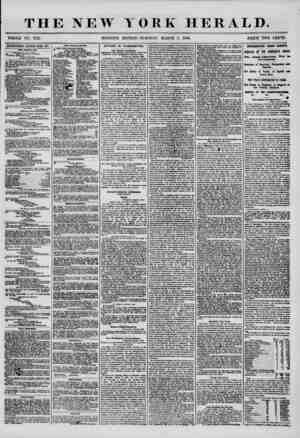 THE NEW WHOLE NO. 7127. MORNING YOKK HERALD. EDITION? TUESDAY, MARCH 4, 1856. PRICE TWO CENTS. ADVERTISEMENTS RENEWED EVERY