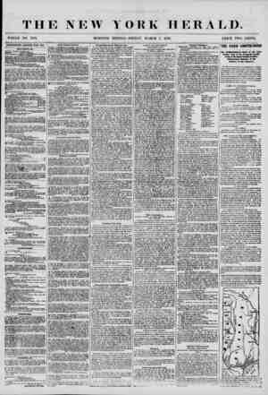 THE NEW MORNING YORK HERALD. EDITION-FRIDAY, MARCH 7, 1856. PRICE TWO CENTS. ADFERTI8EMENTS RENEWED EVERY DAY. UltV GOOUss