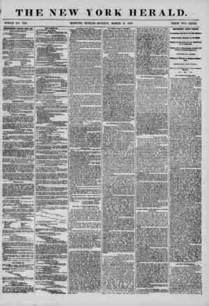 THE NEW YORK HERALD. WHOLE NO. 7133. MORNING EDITION-MONDAY, MARCH 10, 1856. PRICE TWO CENTS. ADVERTISEMENTS REMKWPJ) ETERY