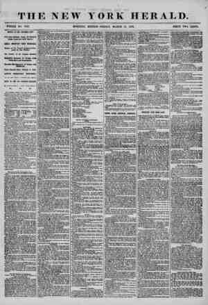THE NEW YORK HERALD. WHOLE NO. 7137. !-? ' - AB RIVAL OF THE NORTHBBN LIGHT. News from California, Oregon, the Sandwich...