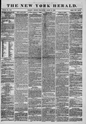 ?' *? ' . * ? . , THE NEW YORK HERALD. WHOLE NO. 7142. MORNING EDITION-WEDNESDAY, MARCH 19, 1856. PRICE TWO CENTS....