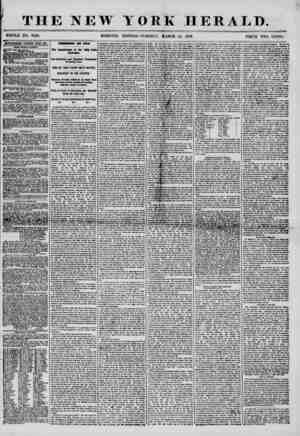 THE NEW WHOLE NO. 7148. MORNING YORK HERALD. i - - - I EDITION-TUESDAY, MARCH 25, 1856. PRICE TWO CENTS. ADVERTISEMENTS...