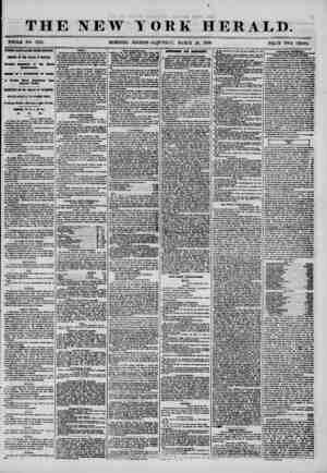 THE NEW WHOLE NO. 7152. MORNING YORK HERALD. ? ? * ? EDITION-SATURDAY, MARCH 29, 1856. PRICE TWO CENTS. THESE DAYS LATER FROM