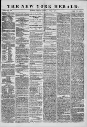 "THE NEW WHOLE NO. 7159. YORK HERALD. PRICE TWO CENTS. AOTFJJTISEMENTS REM ED EVER i DAT. "" Sew publications. SSwiLtusTifXTij"