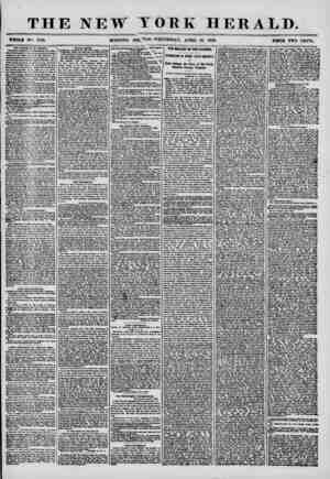 \ THE NEW WHOLB No 7170. MORNING YORK HERALD. jpjJION- WEDNESDAY, APRIL 16, 1856. PB1CB TWO CENTS. TM AiUmm ml Ui UrtWIe, The