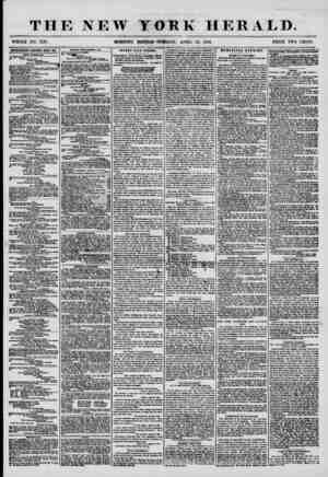THE NEW YORK HERALD. WHOLE NO. 7176. MORNING EDITION?TUESDAY, APRIL 22, 1856. PRICE TWO CENTS. APTBBTISmOTS RfcMWED EFKKY DAI