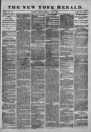 ! j* epM> THE NEW TOEK HERALD. WHOLE NO. 7185. MORNING EDITION-THURSDAY, MAY 1, 1856. PRICE TWO CENTS. ARRIVAL OF THE...