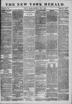 THE NEW YORK HERALD. WHOLE NO. 7191. MORNING EDITION-WEDNESDAY, MAY 7, 1356 PRICE TWO CENTS. WgEFgHMTS REIfEWKB KTEBT BIT,