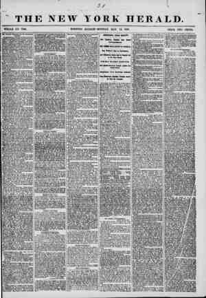 vr THE NEW TORK HERALD. WHOLE NO. 7196. MORNING EDITION?MONDAY, MAY 12, 1856. PRICE TWO CENTS. TM Fmmm >?llro?d and Uu...