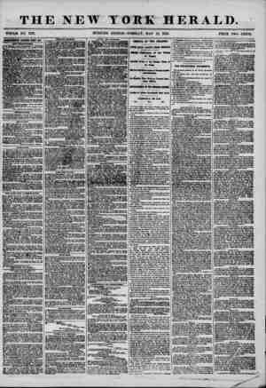 THE NEW TOM HERALD. WHOLE NO. 719T. .MORNING EDITION?TUESDAy, MAT 13, 1856. PRICE TWO CENTS. iimnSHEKTS &EVKW11 ITBI BIT....