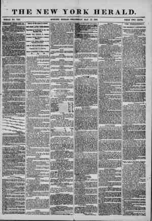 THE NEW YORK HERALD. WHOLE NO. 7205 MORNING EDITION?WEDNESDAY, MAY 21, 1856. PT?rrw Twn nw^rrcr APfBRTKEMEHTg RENEWED EYERY
