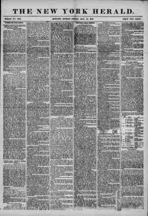 THE NEW YORK HERALD. WHOLE NO. 7207. MORNING EDITION-FRIDAY, MAY 23, 1856. PRICE TWO CENTS. INTERESTING FROM KANSAS. Nf<...