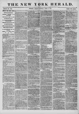 THE NEW YORK HERALD. WHOLE NO. 7217. MORNING EDITION-MONDAY, JUNE 2, 1856. PRICE TWO CENTS. IMPORTANT FROM CENTRAL AMERICA.