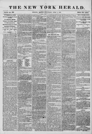 THE NEW YORK HERALD. WHOLE JtfQ, 7219. . MORNING EDITION-WEDNESDAY, JUNE 4, 1856. PRICE TWO CENTS. TIIE PRESIDENTIiL (WNVASS,
